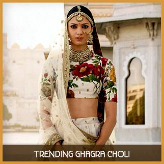 Trending ghagra choli original sized