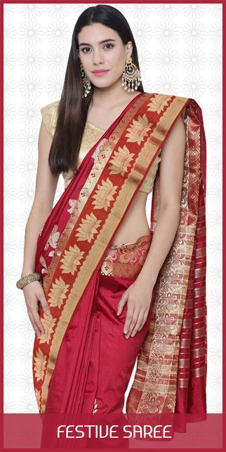 Festive saree original sized