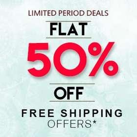 Buy FLAT 50% OFF online
