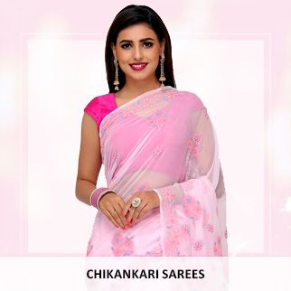 Chikankari sarees original sized