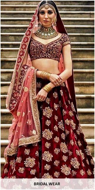 Bridal wear original sized