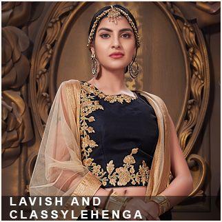 Lavish and classy lehenga original sized
