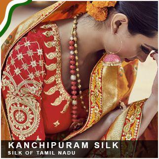 Kanchipuram silk original sized