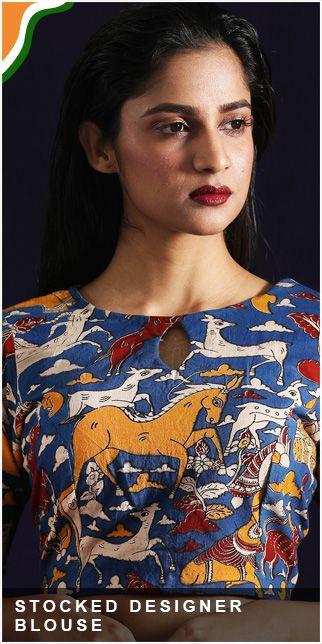 Stocked designer blouse original sized