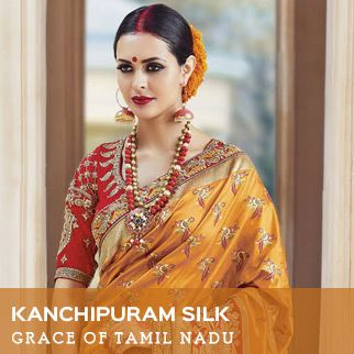 Kanchipuram silk original sized