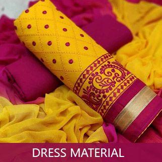Dressmaterial original sized