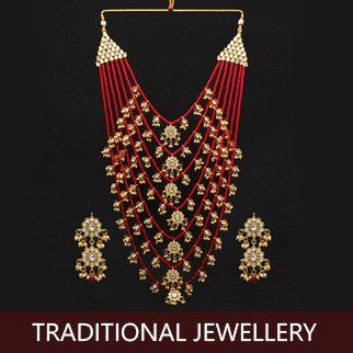 Traditional jewellery original sized