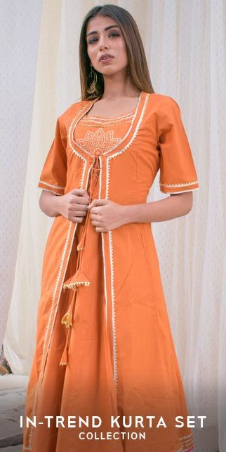 In trend kurta set original sized