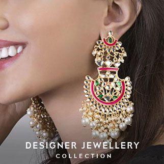 Designer jewellery original sized