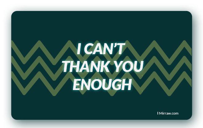 Giftcard thankyou original