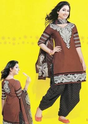 Dress material cotton designer prints unstitched salwar kameez suit d.no 1741