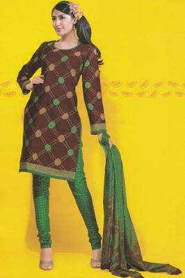 Dress material cotton designer prints unstitched salwar kameez suit d.no 1751