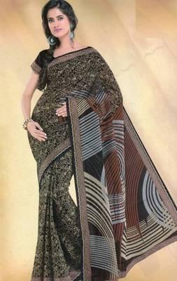 Elegant mal mal cotton saree with blouse piece d.no pw118