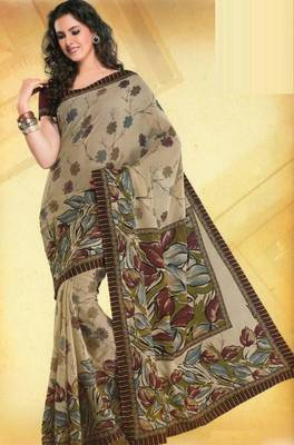 Elegant mal mal cotton saree with blouse piece d.no pw119