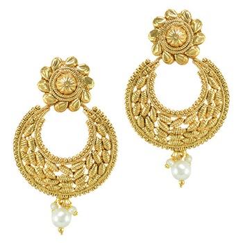 Ethnic Indian Bollywood Jewelry Set Fashion Imitation Earrings