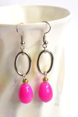 Semi Precious Tangy drop Earrings