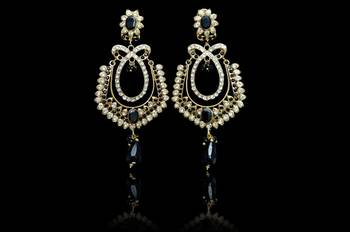 Hot indian Fashion elegant Crystal Rhineston Pink Earrings