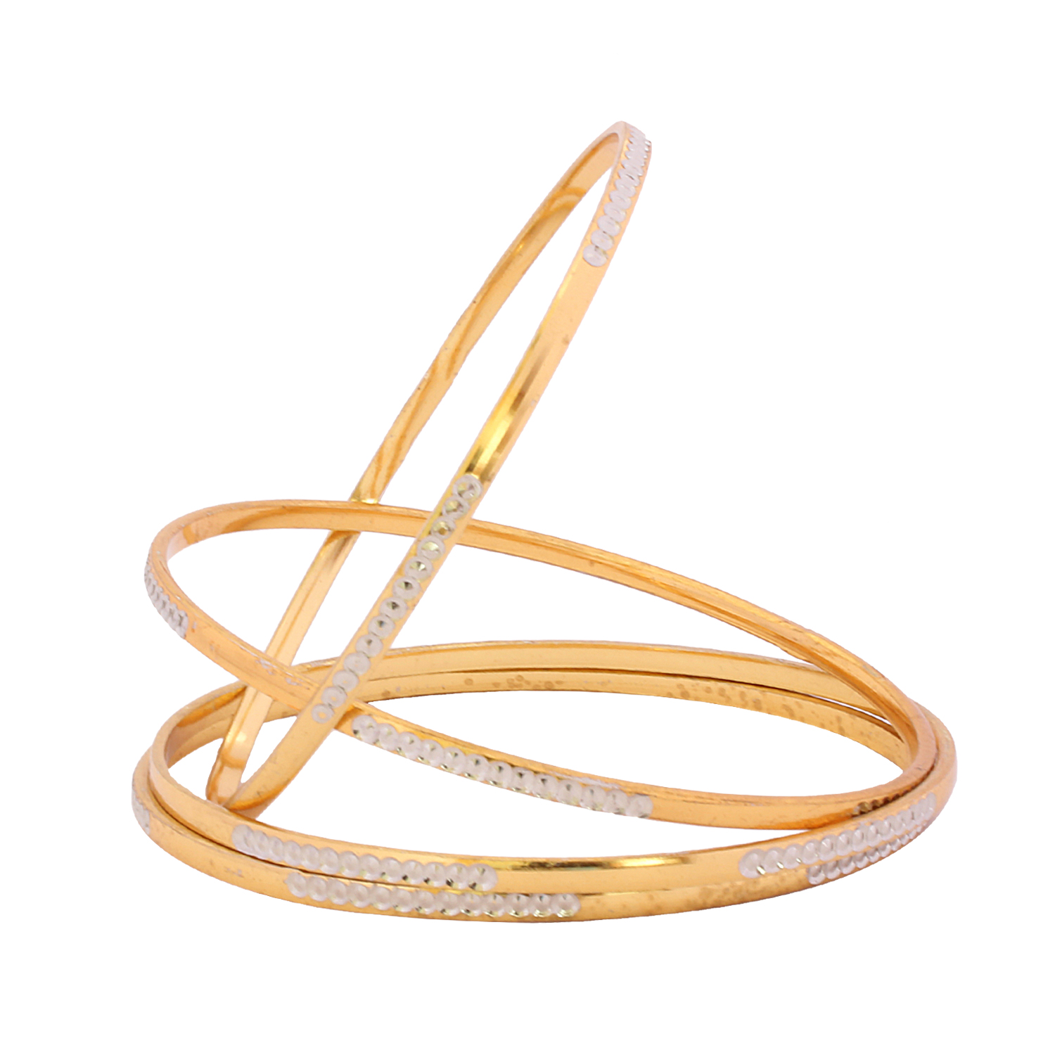 halcyon gold plain bangle skinny and days bracelet bangles cream