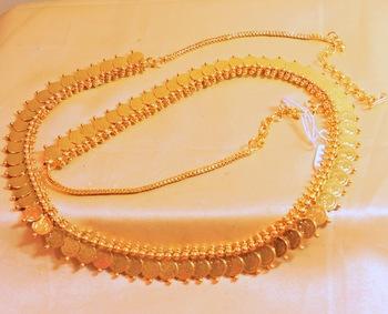 ginni gold platted waistbelt