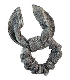 Buy Plain Grey Fabric Hair Rubber Band for Women rubber-hair-band online