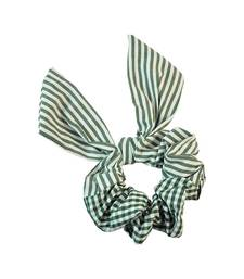 Buy Green Fabric Hair Rubber Band for Women rubber-hair-band online