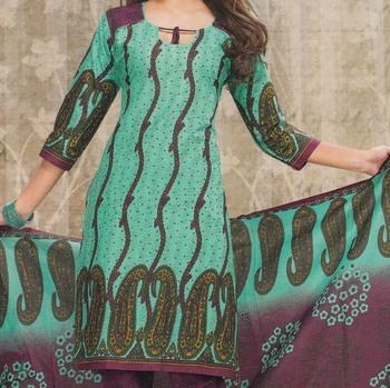 Dress material cotton designer prints unstitched salwar kameez suit d.no sg9124