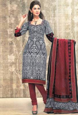 Dress material cotton designer prints unstitched salwar kameez suit d.no sg9129