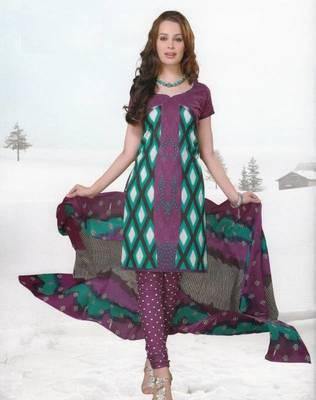 Dress material cotton designer prints unstitched salwar kameez suit d.no var7010
