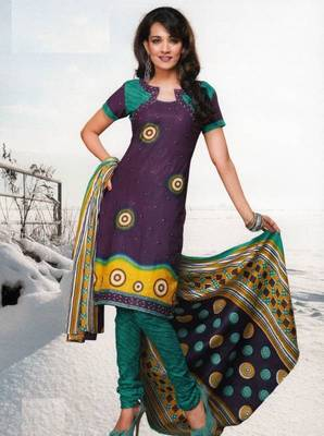 Dress material cotton designer prints unstitched salwar kameez suit d.no var7020