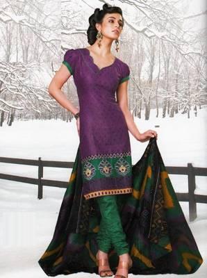 Dress material cotton designer prints unstitched salwar kameez suit d.no var7024