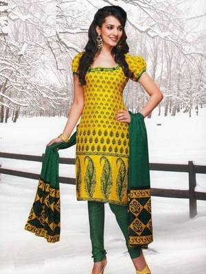 Dress material cotton designer prints unstitched salwar kameez suit d.no var7030