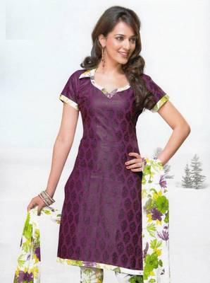 Dress material cotton designer prints unstitched salwar kameez suit d.no var7034