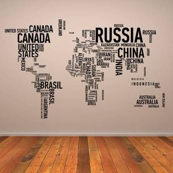 country-names-map-wall-art-sticker