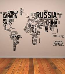 Buy country-names-map-wall-art-sticker wall-art online