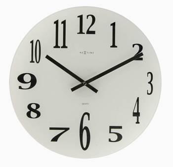 2472-MIRROR GLASS Simple Classy Clock
