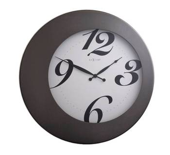 2946-WALTER Steel Clock for Home or Office