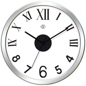 Mix Numbers Simple Classy Slim Clock