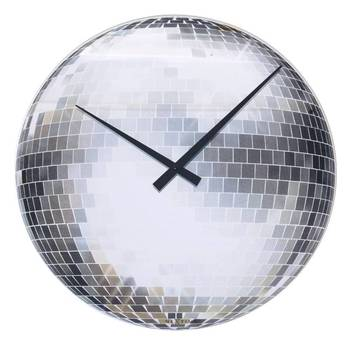 8124-DISCO Funky Music Lover Lounge Clock for Room