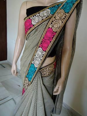 Dignified edition saree