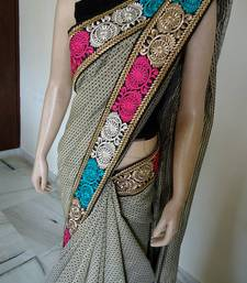 Buy Dignified edition saree chiffon-saree online
