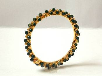 Pearley Bangle- Green