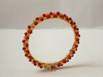 Pearley Bangle- Red