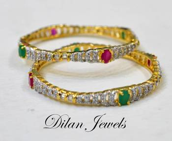 Classy Red Green Bangles