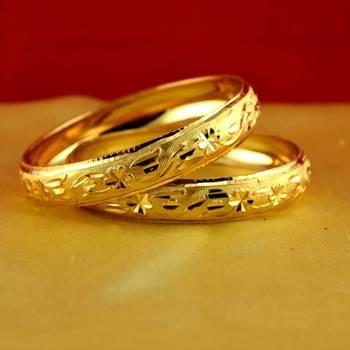 gold moti stone cz polki kundun meenakari pearl bangle kara size-2.4,2.6,2.8,2.10