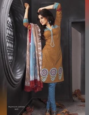 Premium Cotton Dressmaterial