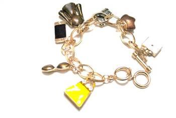 Fashionista charms bracelet