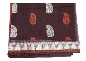 Traditional cotton saree - south indian jacquard cotton sari - riyaa