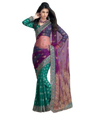 Designer Indian Sari SimSim 7001 A
