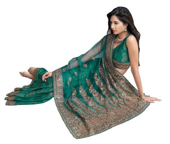 Designer Indian Sari SimSim 7003 B