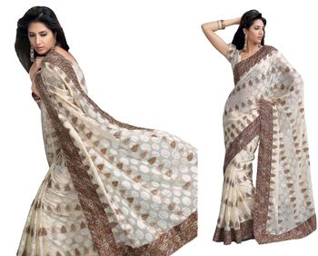 Designer Indian Sari SimSim 7004 A